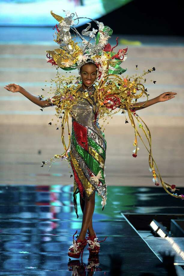 Miss Guyana 2012, Ruqayyah Boyer. Photo: Matt Brown, Miss Universe Organization / Miss Universe Organization