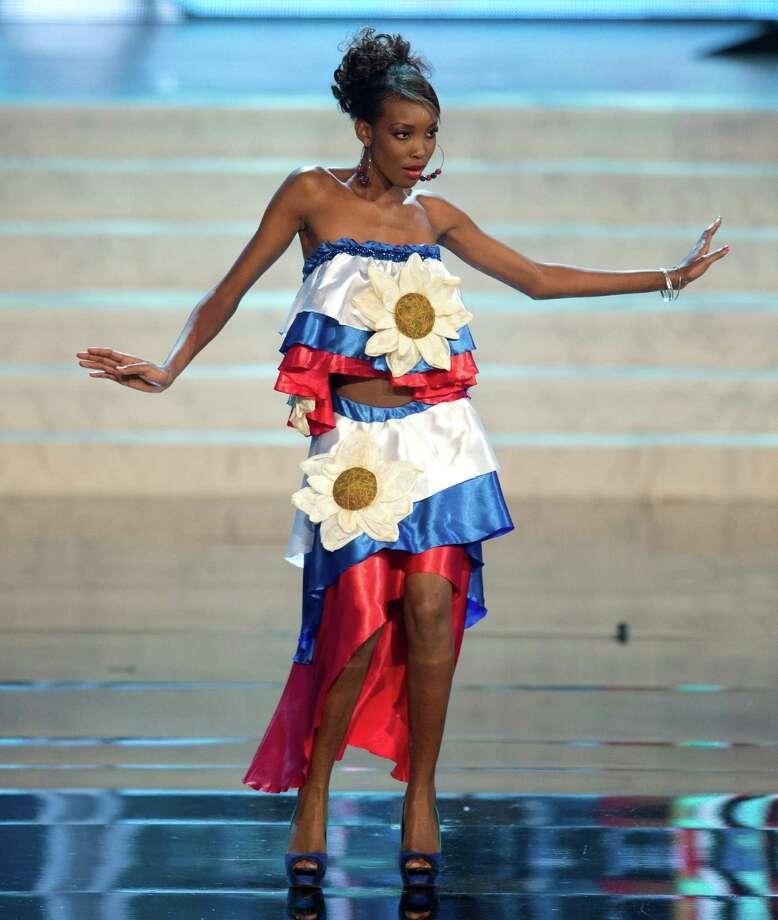 Miss Haiti 2012, Christela Jacques. Photo: Matt Brown, Miss Universe Organization / Miss Universe Organization