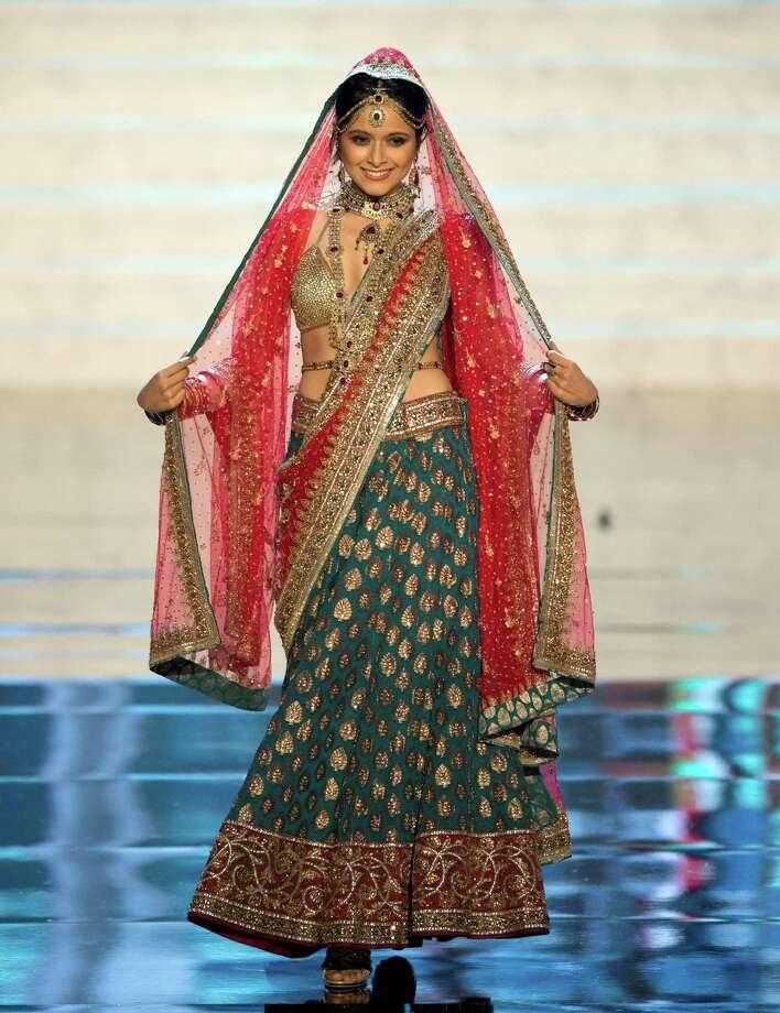 Miss India 2012, Shilpa Singh. Photo: Matt Brown, Miss Universe Organization / Miss Universe Organization