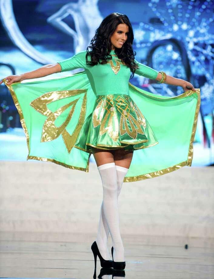 Miss Ireland 2012, Adrienne Murphy. Photo: Darren Decker, Miss Universe Organization / Miss Universe Organization