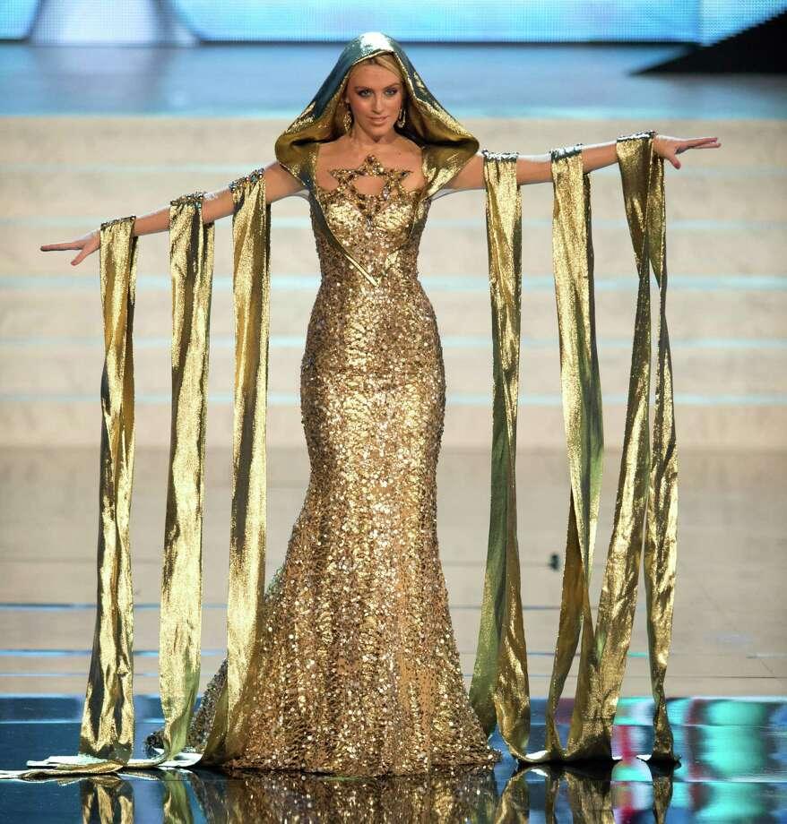 Miss Israel 2012, Lina Makhuli. Photo: Matt Brown, Miss Universe Organization / Miss Universe Organization