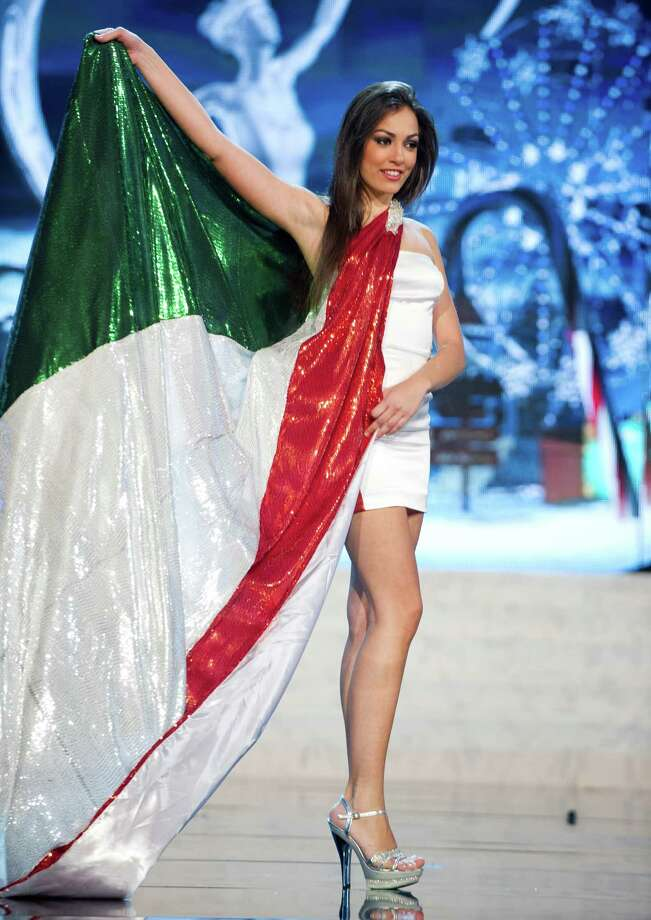 Miss Italy 2012, Grazia Pinto. Photo: Darren Decker, Miss Universe Organization / Miss Universe Organization