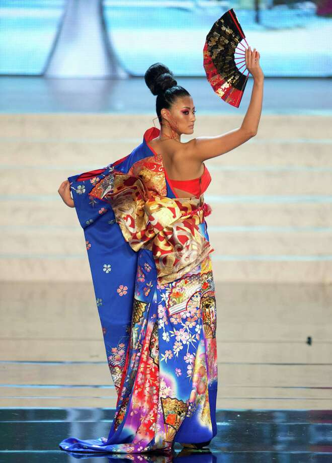 Miss Japan 2012, Ayako Hara. Photo: Matt Brown, Miss Universe Organization / Miss Universe Organization