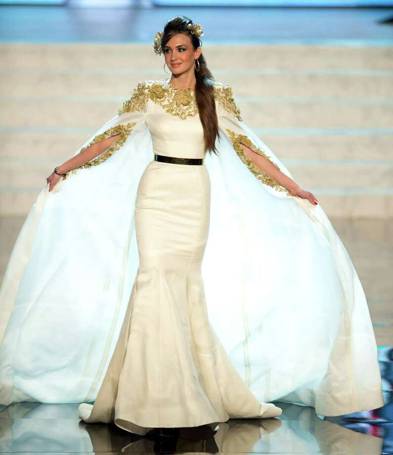 Miss Lebanon 2012, Rina Chibany. Photo: Matt Brown, Miss Universe Organization / Miss Universe Organization