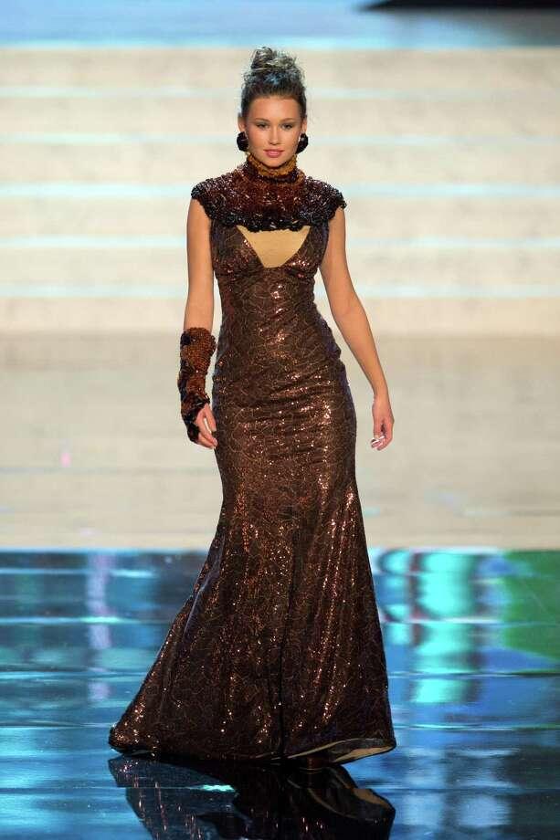 Miss Lithuania 2012, Greta Mikalauskyte. Photo: Matt Brown, Miss Universe Organization / Miss Universe Organization