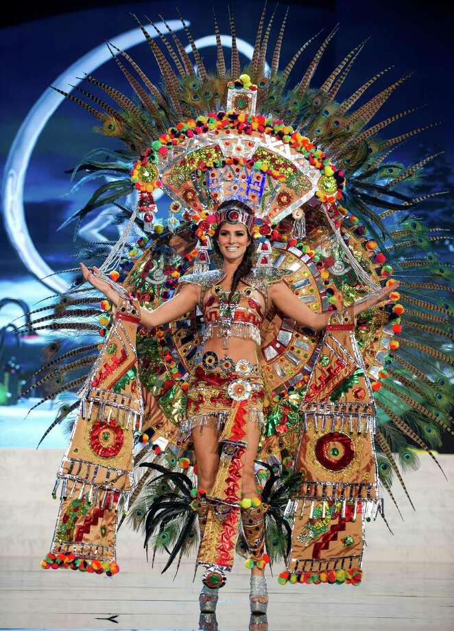 Miss Mexico 2012, Karina Gonzalez. Photo: Darren Decker, Miss Universe Organization / Miss Universe Organization