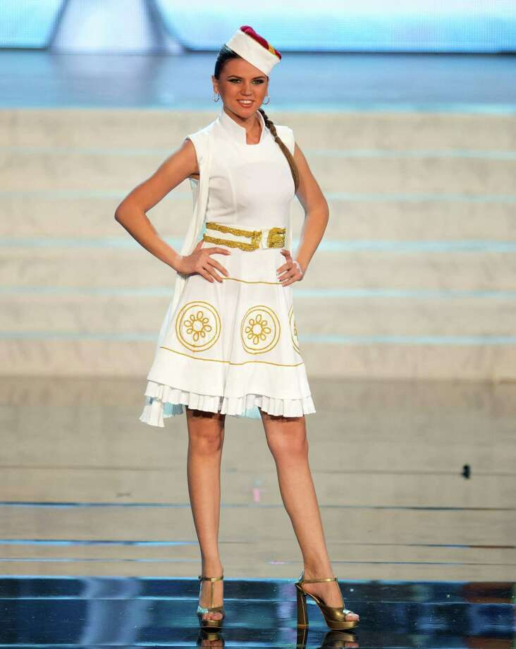 Miss Montenegro 2012, Andrea Radonjić. Photo: Matt Brown, Miss Universe Organization / Miss Universe Organization
