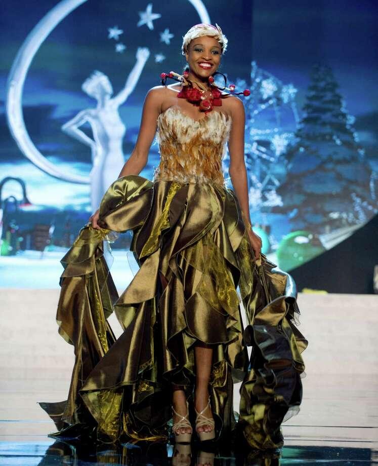 Miss Namibia 2012, Tsakana Nkandih. Photo: Darren Decker, Miss Universe Organization / Miss Universe Organization