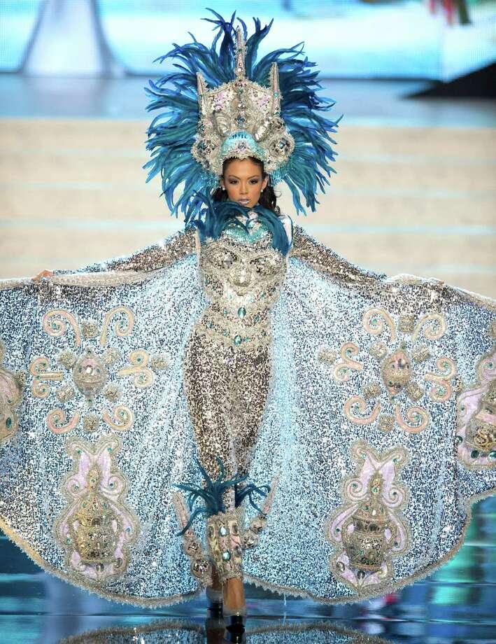 Miss Nicaragua 2012, Farah Eslaquit. Photo: Matt Brown, Miss Universe Organization / Miss Universe Organization