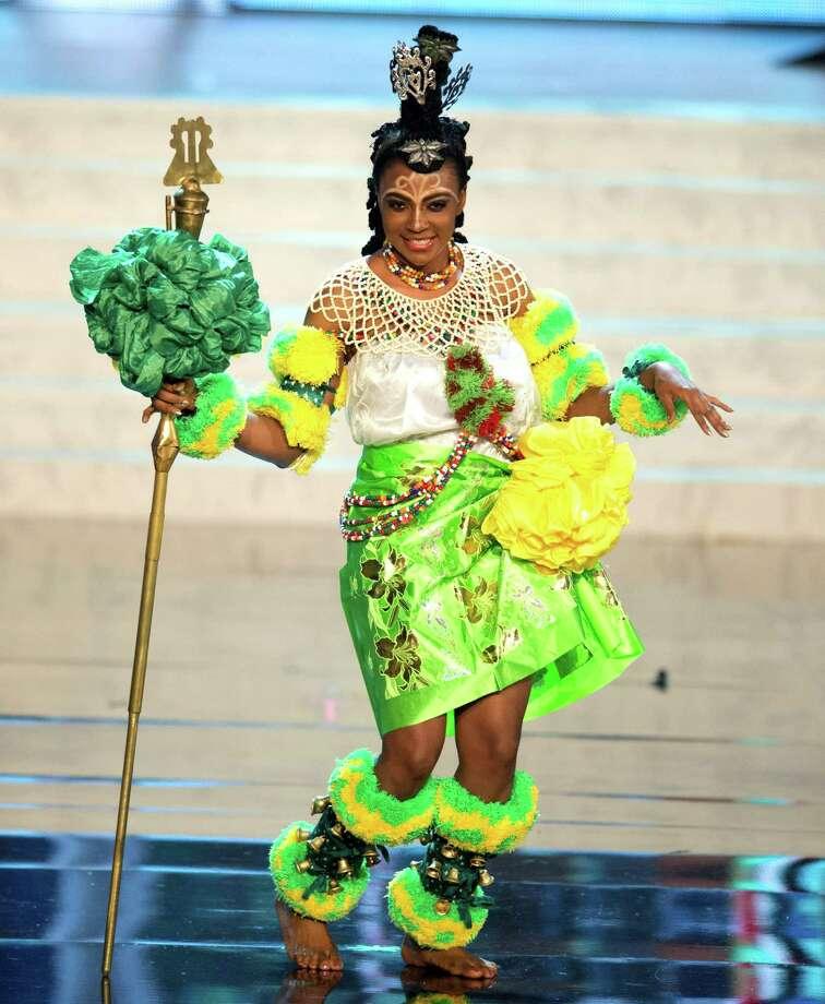 Miss Nigeria 2012, Isabella Agbor Ojong Ayuk. Photo: Matt Brown, Miss Universe Organization / Miss Universe Organization