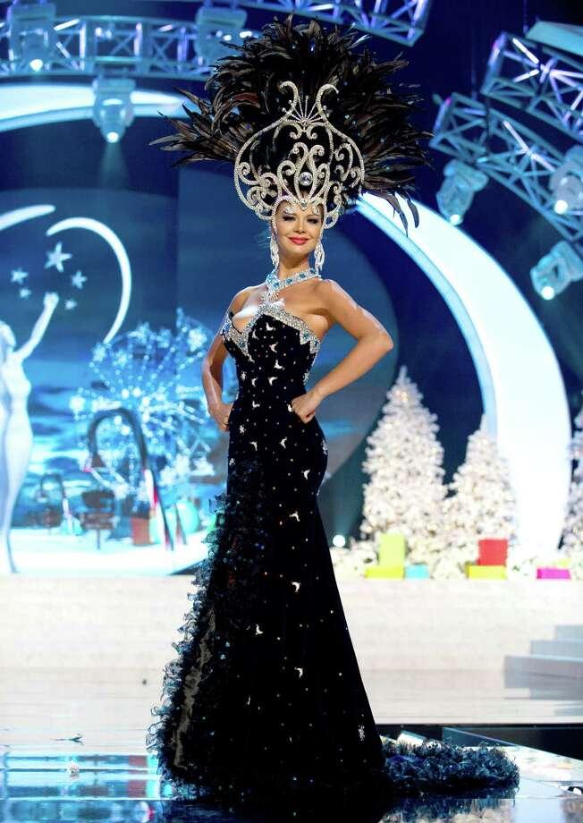 Miss Paraguay 2012, Egni Eckert. Photo: Darren Decker, Miss Universe Organization / Miss Universe Organization