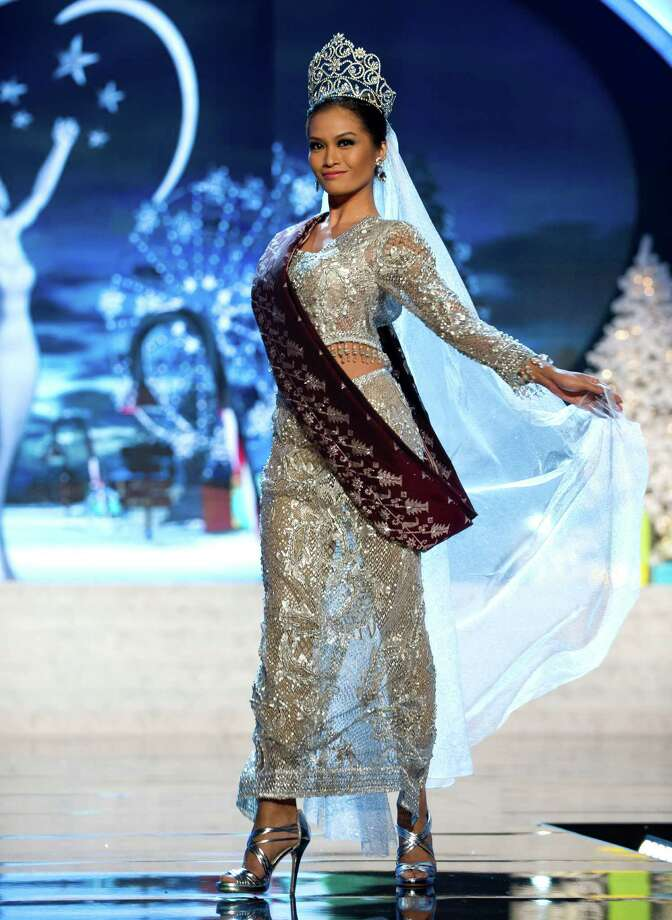 Miss Philippines 2012, Janine Tugonon. Photo: Darren Decker, Miss Universe Organization / Miss Universe Organization
