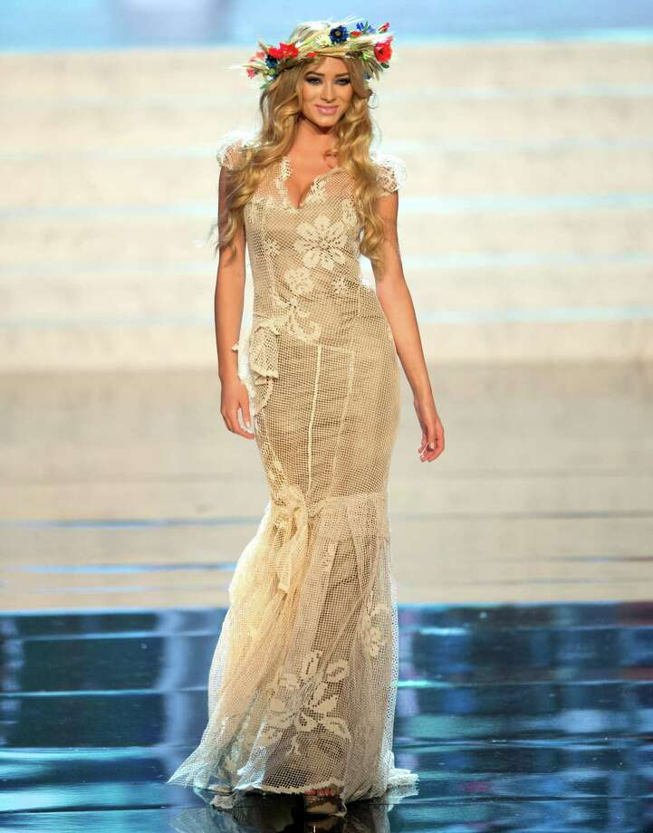 Miss Poland 2012, Marcelina Zawadzka. Photo: Matt Brown, Miss Universe Organization / Miss Universe Organization