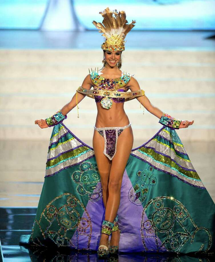 Miss Puerto Rico 2012, Bodine Koehler. Photo: Matt Brown, Miss Universe Organization / Miss Universe Organization