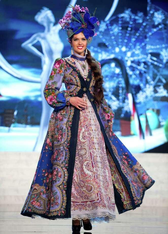 Miss Russia 2012, Elizabeth Golovanova. Photo: Darren Decker, Miss Universe Organization / Miss Universe Organization