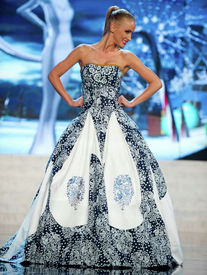 Miss Slovak Republic 2012, Lubica Stepanova. Photo: Darren Decker, Miss Universe Organization / Miss Universe Organization
