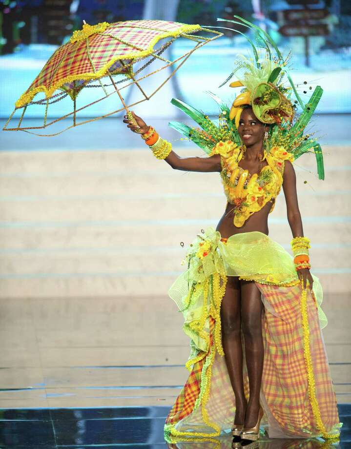 Miss St. Lucia 2012, Tara Edward. Photo: Matt Brown, Miss Universe Organization / Miss Universe Organization