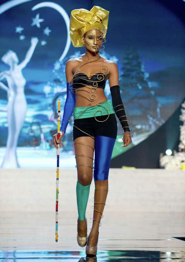 Miss Tanzania 2012, Winfrida Dominic. Photo: Darren Decker, Miss Universe Organization / Miss Universe Organization