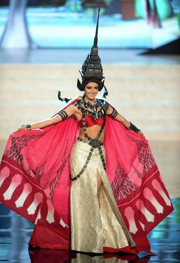 Miss Thailand 2012, Nutpimon Farida Waller. Photo: Matt Brown, Miss Universe Organization / Miss Universe Organization