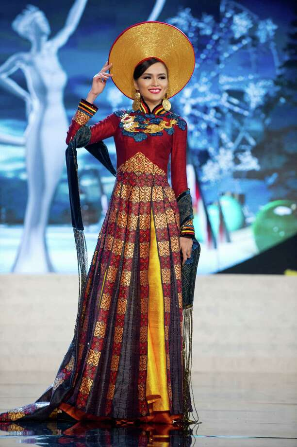 Miss Vietnam 2012, Diem Huong Luu. Photo: Darren Decker, Miss Universe Organization / Miss Universe Organization