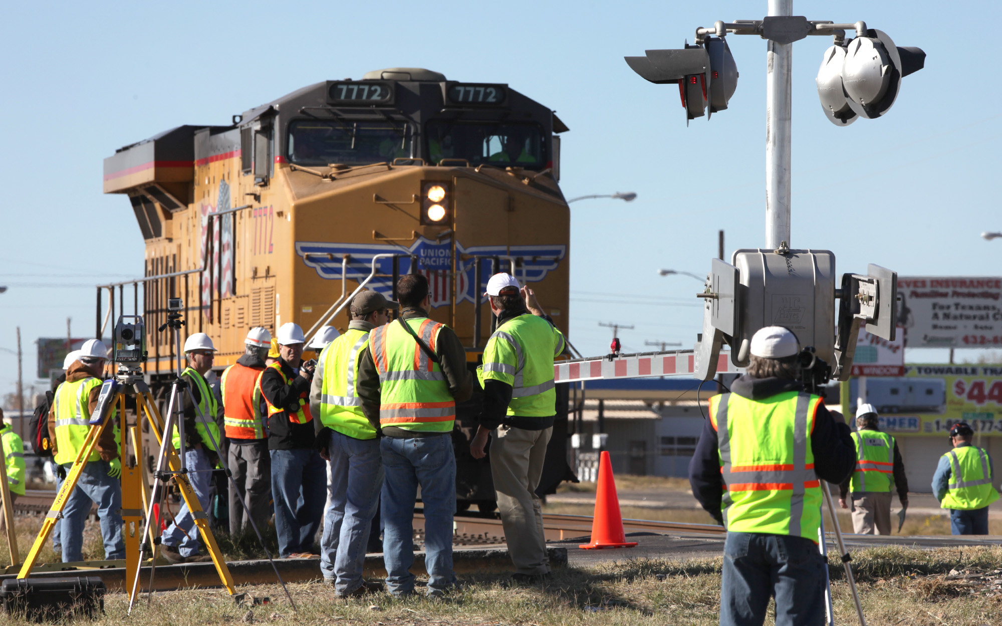Union Pacific to work on system at site of fatal Midland crash - San