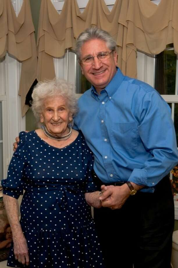 State Assemblyman James Tedisco with his mother, Beatrice, who passed away Dec. 15, 2012.