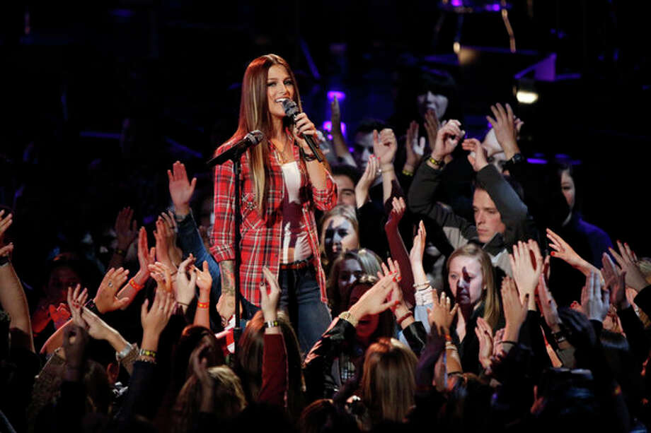 THE VOICE -- Live Show Episode 323A -- Pictured: Cassadee Pope -- (Photo by: Tyler Golden/NBC) Photo: NBC, Tyler Golden/NBC / 2012 NBCUniversal Media, LLC