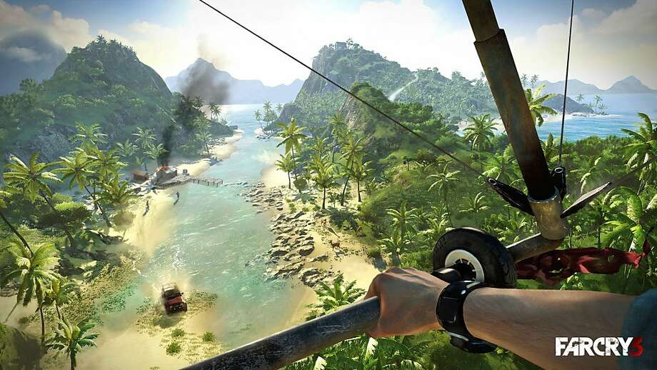 """Far Cry 3"" takes place on an exotic yet dangerous island in the South Pacific. An interesting cast of characters makes up for the game's predictable script. Photo: Uncredited, Associated Press"