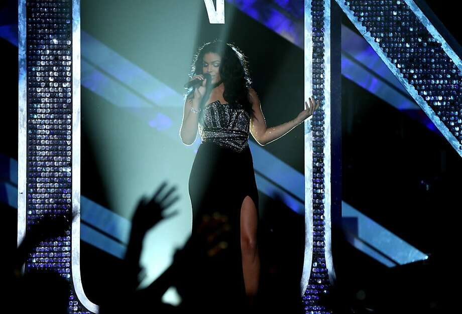"Singer Jordin Sparks performs onstage during ""VH1 Divas"" 2012 at The Shrine Auditorium on December 16, 2012 in Los Angeles, California. Photo: Christopher Polk, Getty Images"