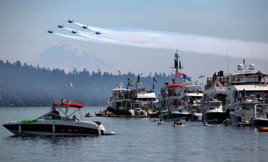 Seafair organizers said the Blue Angels are still expected to fly in Seattle this summer even though there have been cancellation concerns because of forced budget cuts. Where are the best places to watch the air show? Click through these photos to find out. Photo: JOSHUA TRUJILLO / SEATTLEPI.COM
