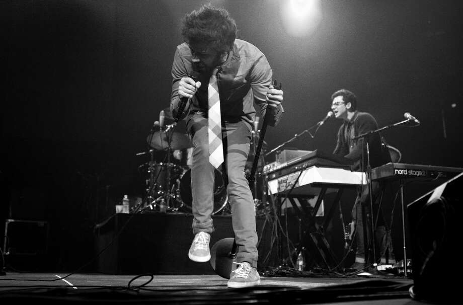 Passion Pit performs at Live 105's Not So Silent Night concert at Oracle Arena in Oakland on December 8, 2012. Photo: Grady Brannan, Butchershop Creative / Butchershop Creative Archive all rights reserved