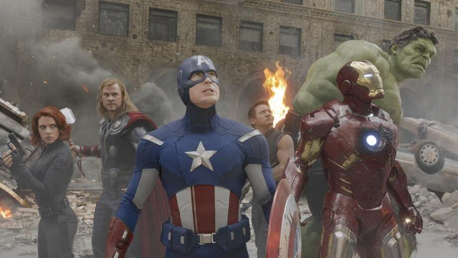 13. THE AVENGERS: If degree of difficulty was factored in, this would move up six or seven spots. Joss Whedon pulled together mismatched parts and a leftover villain, and made everything work in this superhero epic.  (Marvel Studios)