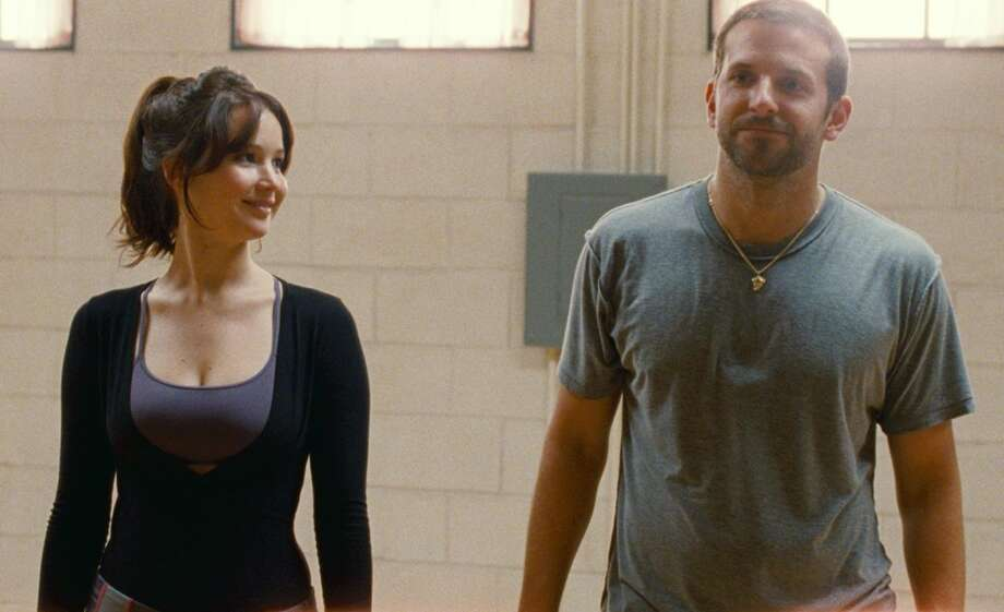 2. SILVER LININGS PLAYBOOK: A drama about clawing your way back from rock bottom, standing by your family and supporting the Philadelphia Eagles. Filled with surprises, including a breakout performance from Bradley Cooper, a return to form by Robert De Niro and -- out of nowhere -- the greatest romance of the year. (AP Photo/The Weinstein Company, JoJo Whilden)