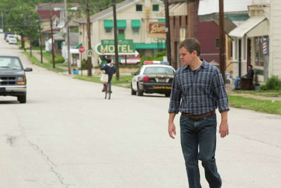 Promised Land is a fiction story about a landman for a natural gas company. He has an impressive record of closing deals until he runs into a town wary of the new drilling.  (Focus Theaters)