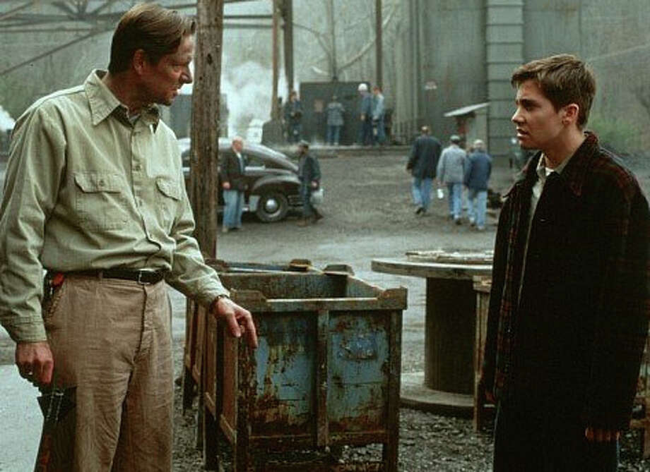 October Sky is mainly about a group of kids who build rockets for fun in a coal mining town. The main character, Homer H. Hickam Jr., is the son of the manager of a coal mining operation in town. The character, who is played by Jake Gyllenhaal, briefly works in the coal mine.  (Universal Pictures)