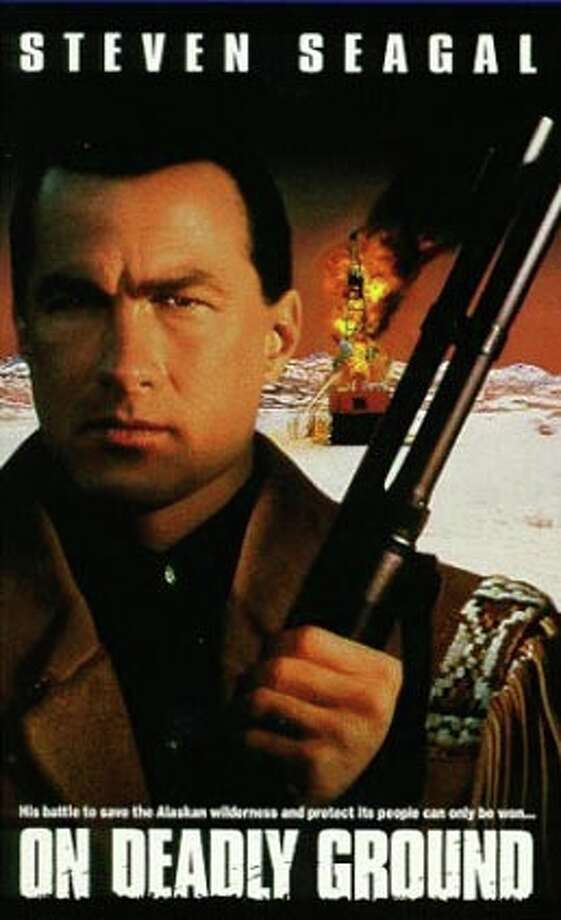 On Deadly Ground is about a martial arts and environmental agent who takes on a corrupt oil corporation.