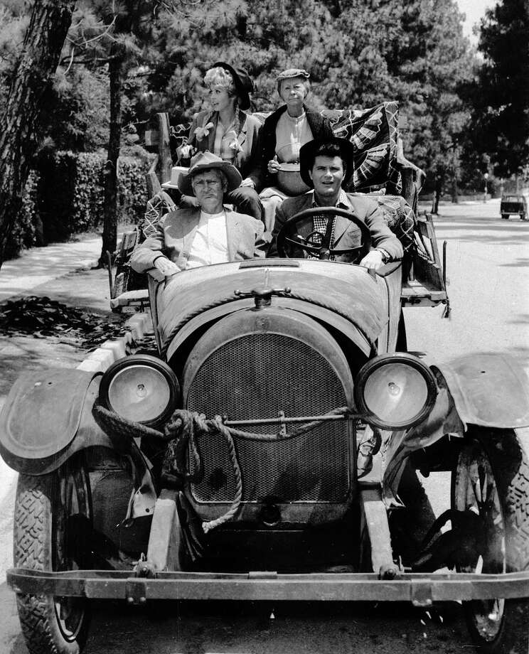 The Beverly Hillbillies is about a family that struck it big on oil and moved into Beverly Hills. We don't need to explain how energy is a main theme there. Photo: AP / ho