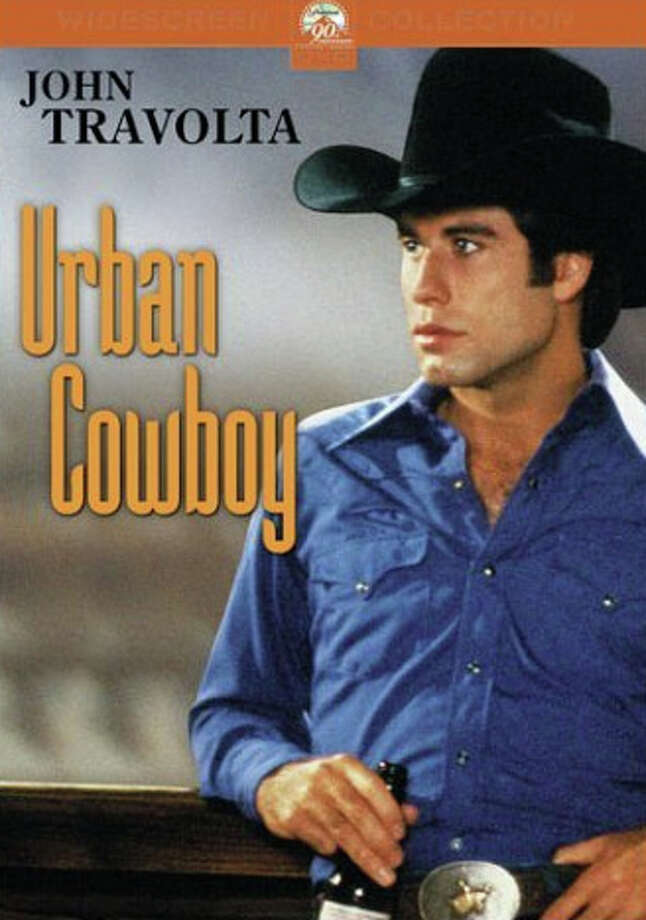 Urban Cowboy, which stars John Travolta, is about a country boy who learns about life and love in a Houston bar. Bud works at a Pasadena refinery. (Thanks to Joe Taylor for pointing out the glaring omission.)