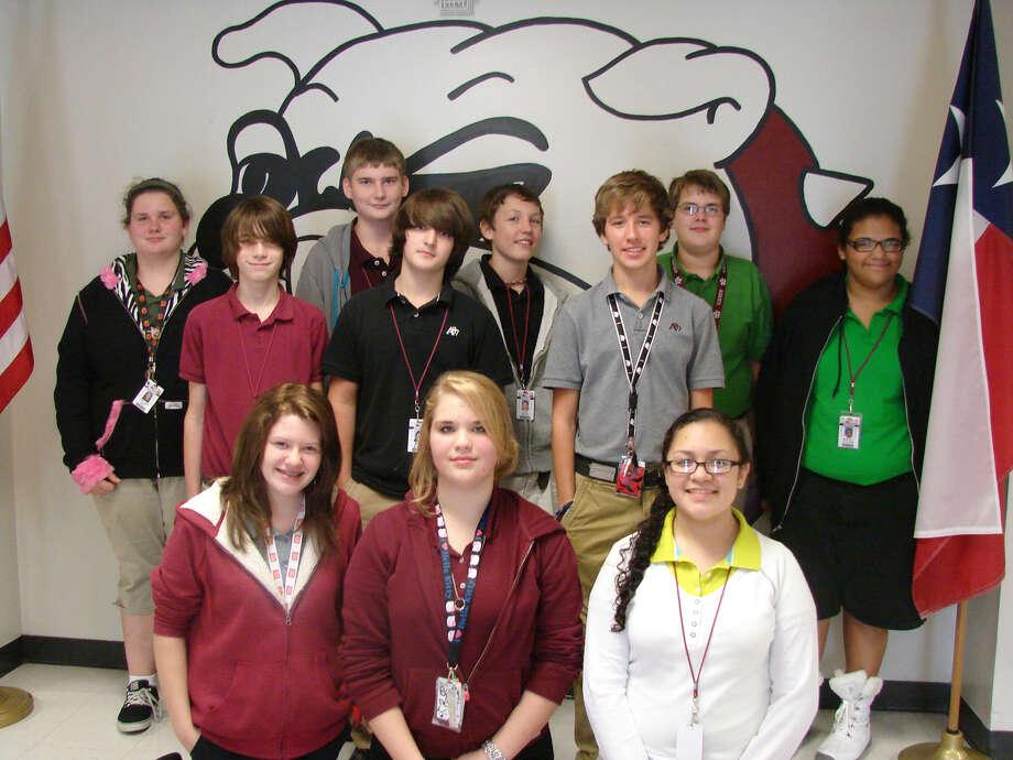 Jasper Junior High students. Photo: Courtesy Photo