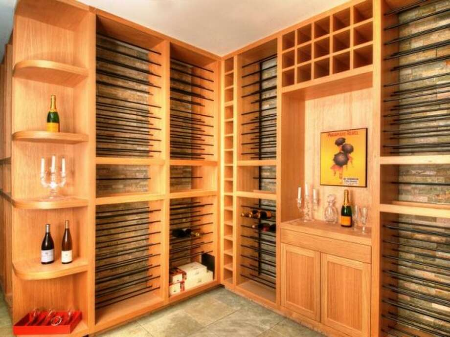 But of course, there is a climate-controlled wine cellar. (Olivia Hsu Decker)