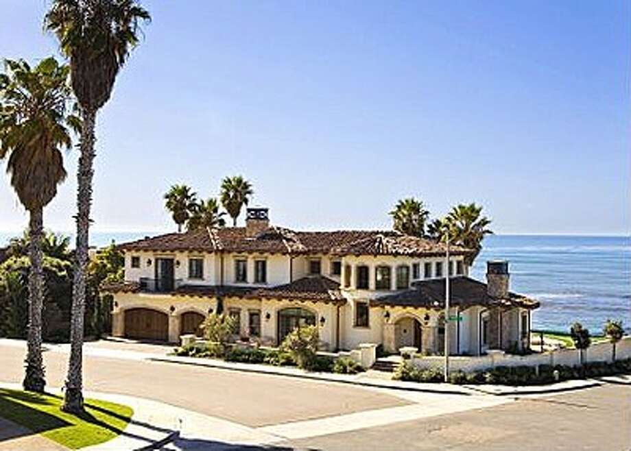 Previously listed at $18 million and $13.5 million, this La Jolla house went to auction and is now in bid consideration.  (Tom Wagner Premier Homes Group)