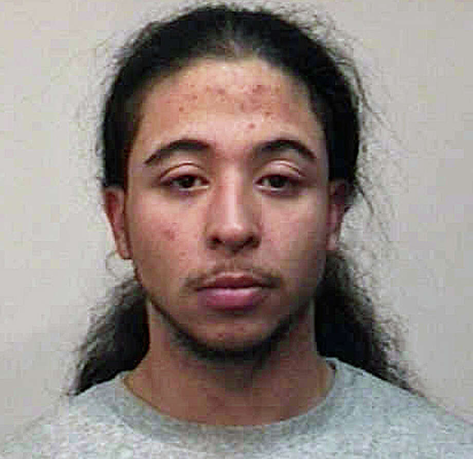 Edwin Santos, 21, was charged after he was caught allegedly breaking into a car. Photo: Contributed Photo / Fairfield Citizen