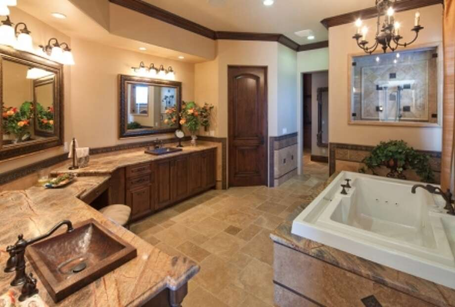 The La Jolla house has a pretty spacious bathroom. (Sheldon Good & Co.)