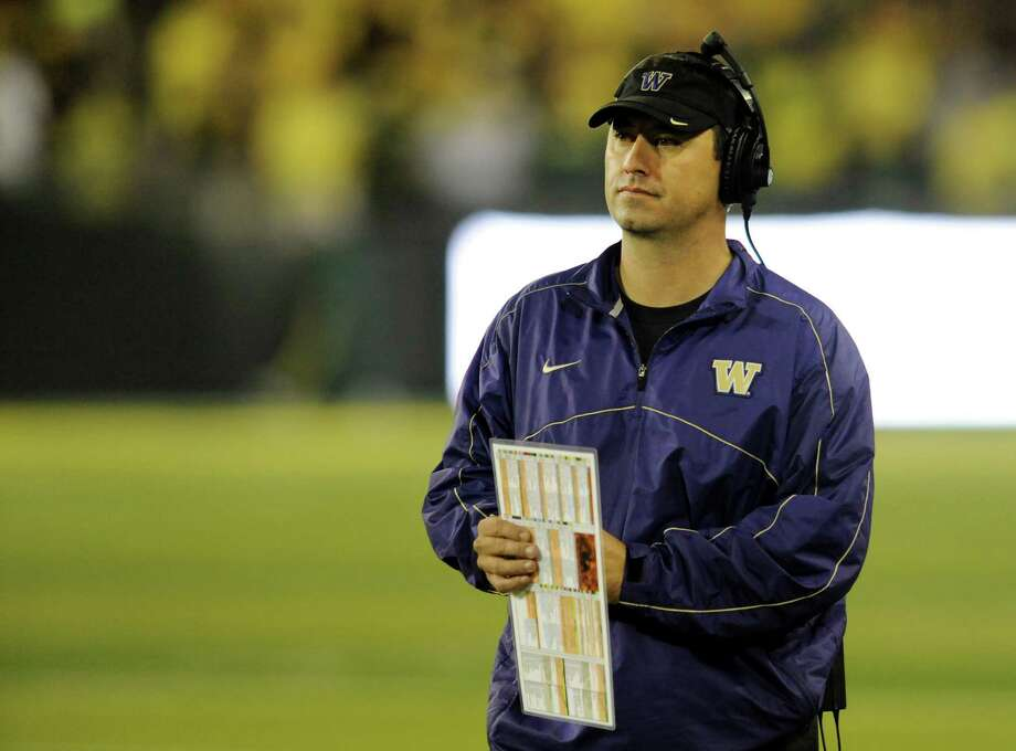 "5. Steve Sarkisian -- head UW football coachIt's worth repeating what my friend said three years ago when Coach Sark was sixth on the list: ""Super hot. It's not just his face. His voice makes me wish I was his center at BYU."" Photo: Steve Dykes, Getty Images / 2012 Getty Images"