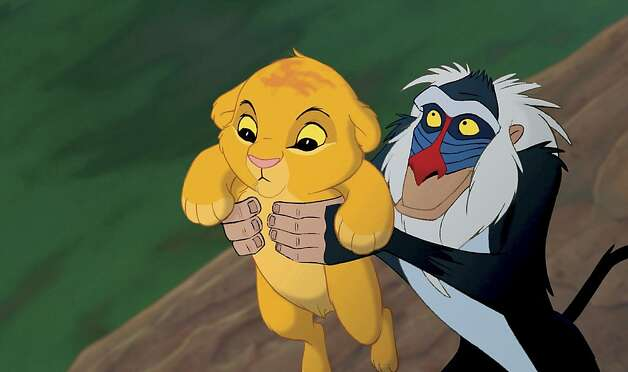 "The 3-D ""Lion King"" grossed nearly $100 million. Photo: Walt Disney Pictures, The New York Times"