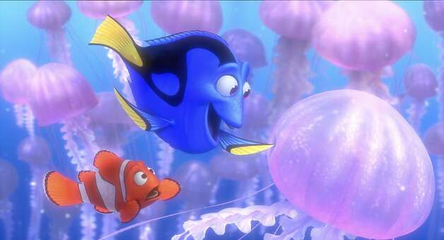 """Finding Nemo 3D"" grossed only $40.7 million. Photo: Disney Pixar"