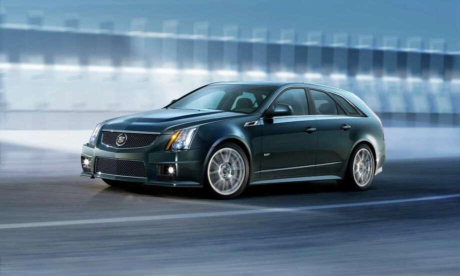 Cadillac CTS-V SedanMidsize CarMiles Per Gallon: 14Green House Gas: 2Air Pollution: 5Total: 21 Photo: Cadillac Handout Photo / Cadillac