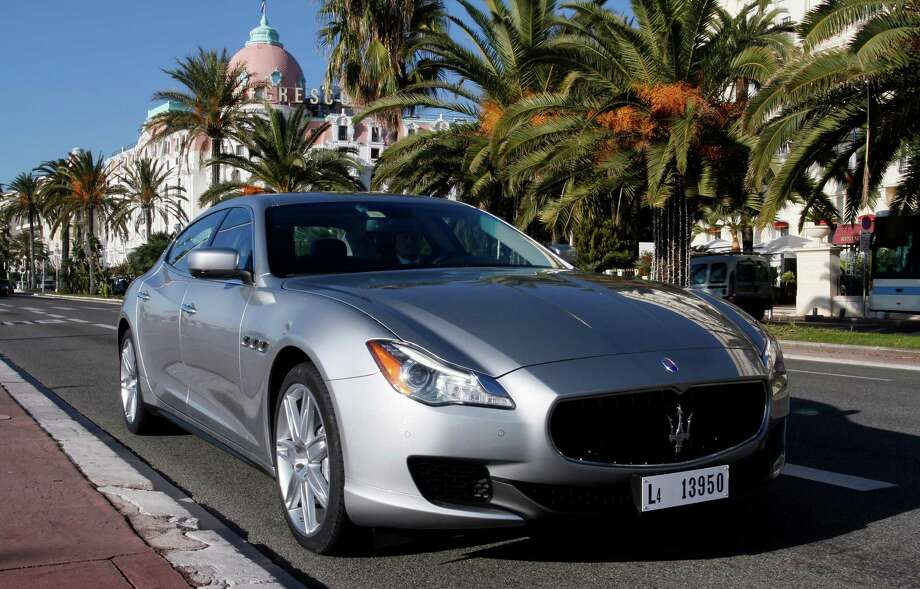 If you were looking to save $11,000, you could buy the Maserati Quattroporte for $104,000. Photo: Michele Tantussi, Bloomberg News / Copyright 2012 Bloomberg Finance LP