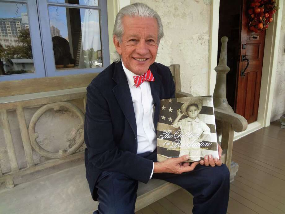 "Marketing and political consultant Lionel Sosa is the driving force behind ""The Children of the Revolucion,"" the public TV series that has now spawned a companion book. Photo: Steve Bennett, San Antonio Express-News / San Antonio Express-News"