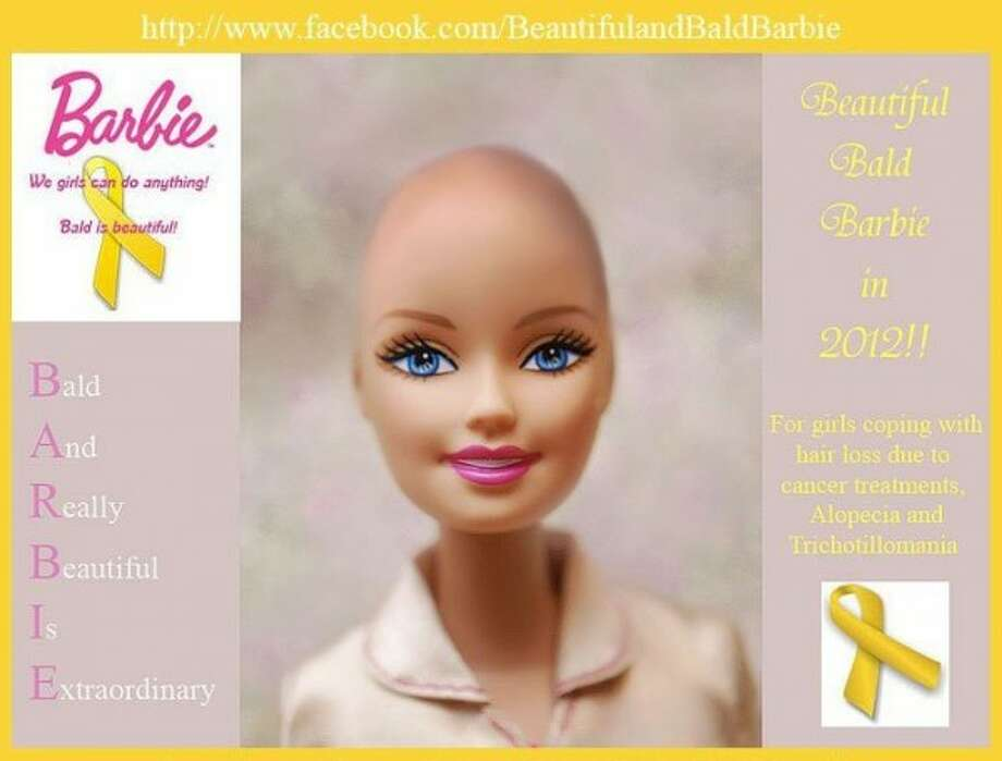 Two women who bonded over hair loss started a Facebook campaign asking Mattel to manufacture a bald Barbie for girls who suffer from diseases that can lead them to go bald. After over 150,000 people joined the Facebook page Mattel announced that they would donate Bald Barbies to hospitals treating children affected by hair loss throughout the U.S. and Canada.